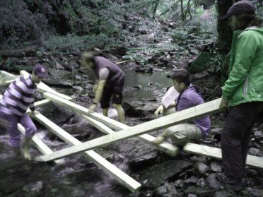 outdoor training als team training