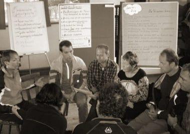 teamtraining powercamp gruppenreflexion