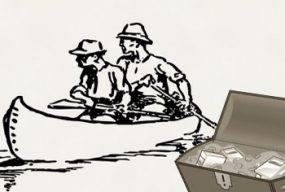 geocaching mit kanus