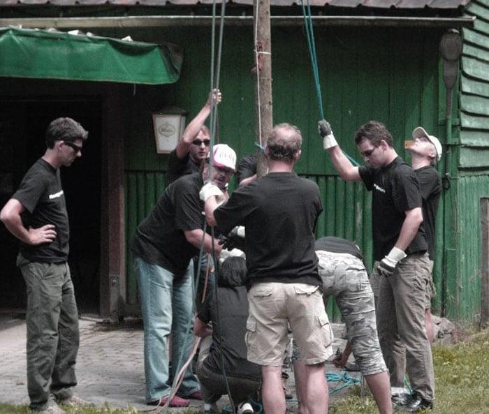 outdoor teamtraining im camp