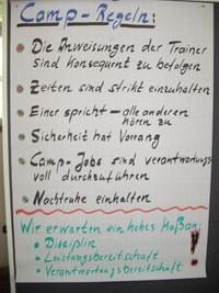 team training PC camp_regeln
