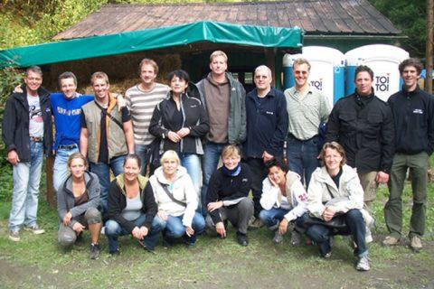 team training powercamp gruppenfoto