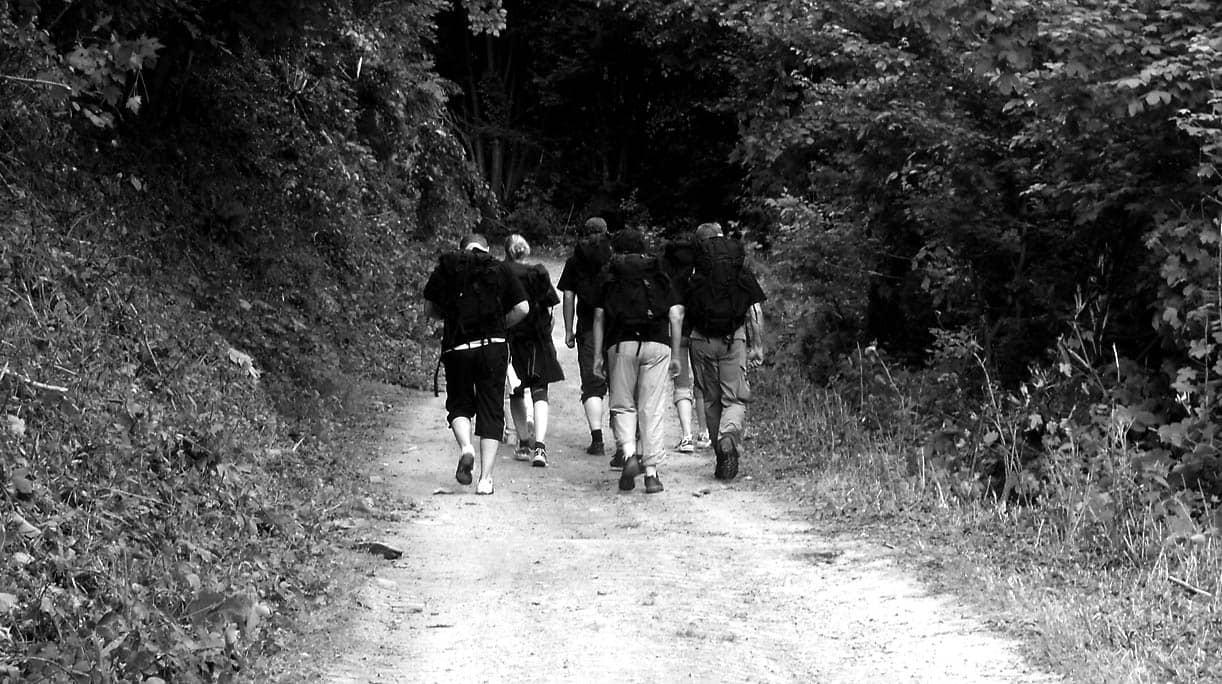 Führungskräfte challenge walk